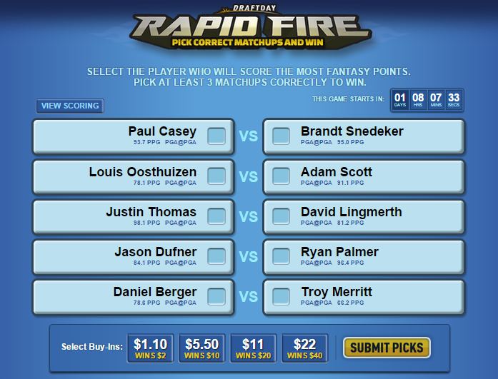 draftday rapidfire